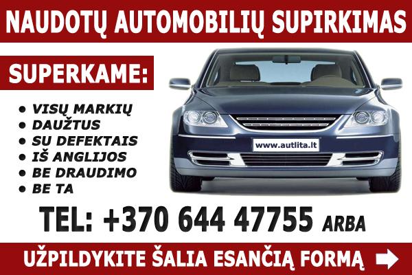 Automobilių supirkimas - Autlita